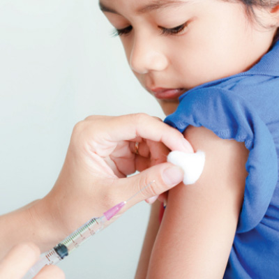 Child Getting Immunization