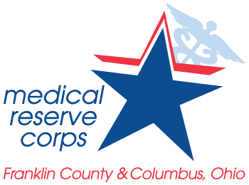 Franklin County & Columbus Medical Reserve Corps Logo